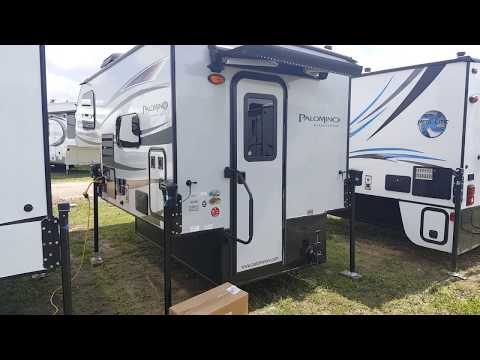 2017 Palomino Real Lite HS1804 Ultra Lite Truck Camper @ Camp-Out RV