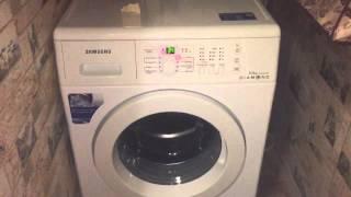 Шум при отжиме стиральной машины Samsung