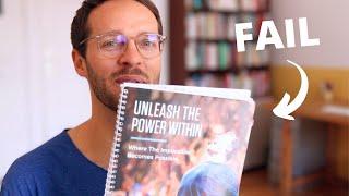 """Warum ich Tony Robbins Seminar """"Unleash the Power Within"""" frühzeitig verlassen habe 😕"""