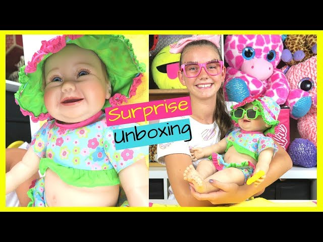 Reborn Unboxing ???????? Beach Baby????Real Box Opening - New