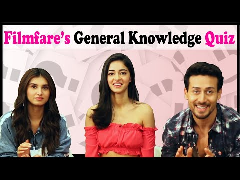 GK Quiz with the Cast of SOTY 2 | Ananya Pandey | Tara Sutaria | Tiger Shroff | SOTY2 Cast Interview
