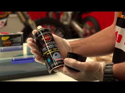 Penrite - Motorcycle Air filter cleaning/oiling