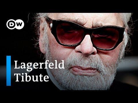Fashion World pays tribute to Karl Lagerfeld | DW News