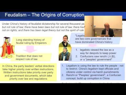 20160907海野塾夜間コースCorruption in China 3-Legalism and Renzhi