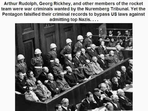 Nazi criminals at the head of Apollo