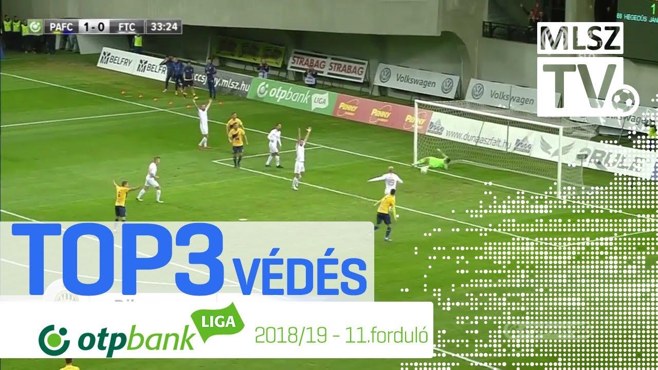 TOP 3 VÉDÉS – 11. forduló | OTP Bank Liga | 2018/2019