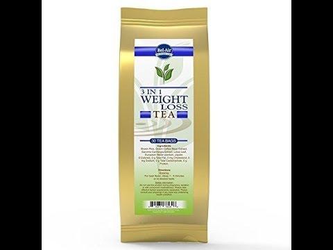 Longevity 3 in 1 Weight Loss Herbal Tea with Garcinia CambogiaGreen Coffee Bean Extract, teabags, 3