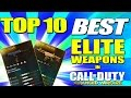 "Top 10 ""ELITE SUPPLY DROP WEAPONS"" in Advanced Warfare (Top Ten - Top 10) Call of Duty AW"