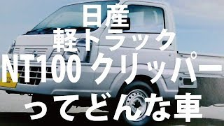 日産 クリッパートラック かっこよすぎるカタログもらってきました 仕様 特装 NT100クリッパー