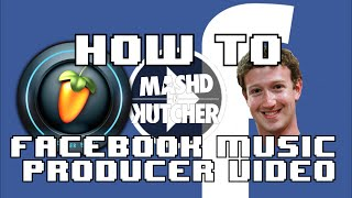HOW TO make a facebook music producer meme page video