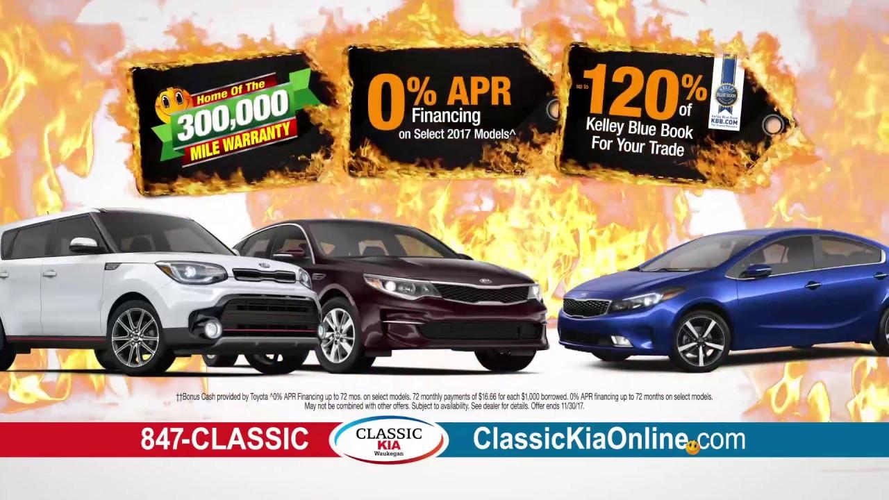 Black Friday Deals At Classic Kia!