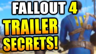 Fallout 4 - Trailer Breakdown + Secrets & Things You May Have Missed! (Fallout 4 Gameplay)