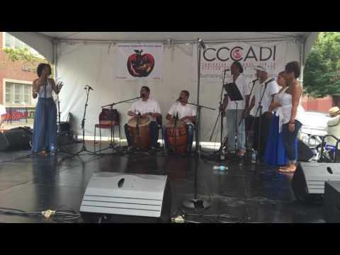 Matthew y Su Cumbalaya at Caribbean Cultural Center's Festival Loiza, Summer 2016