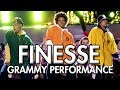 Bruno Mars and Cardi B - Finesse (LIVE From The 60th GRAMMY'S) DANCE VIDEO | MihranTV