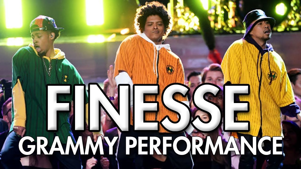 Bruno Mars And Cardi B Finesse Live From The 60Th Grammys Dance Video Mihrantv