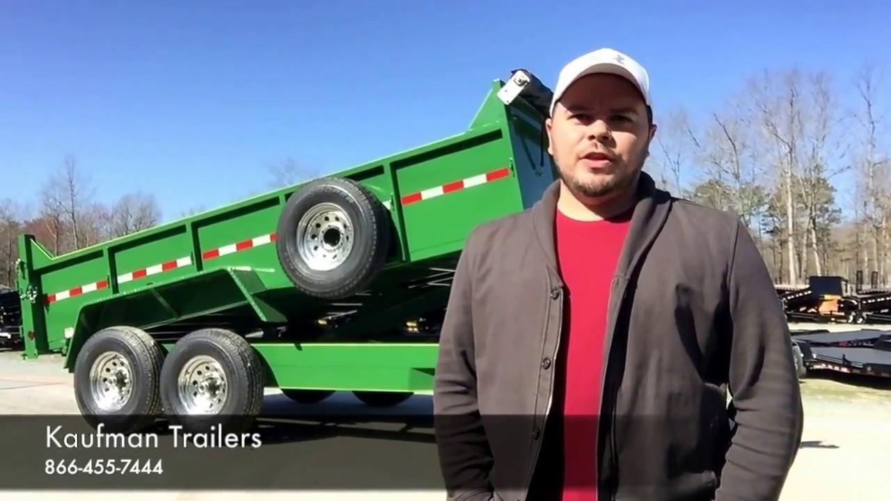 Light Duty Dump Trailers for Sale by Kaufman Trailers ...  Kaufman Dump Trailers