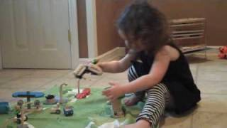 Plan Toys - Eco Town + Green Dollhouse