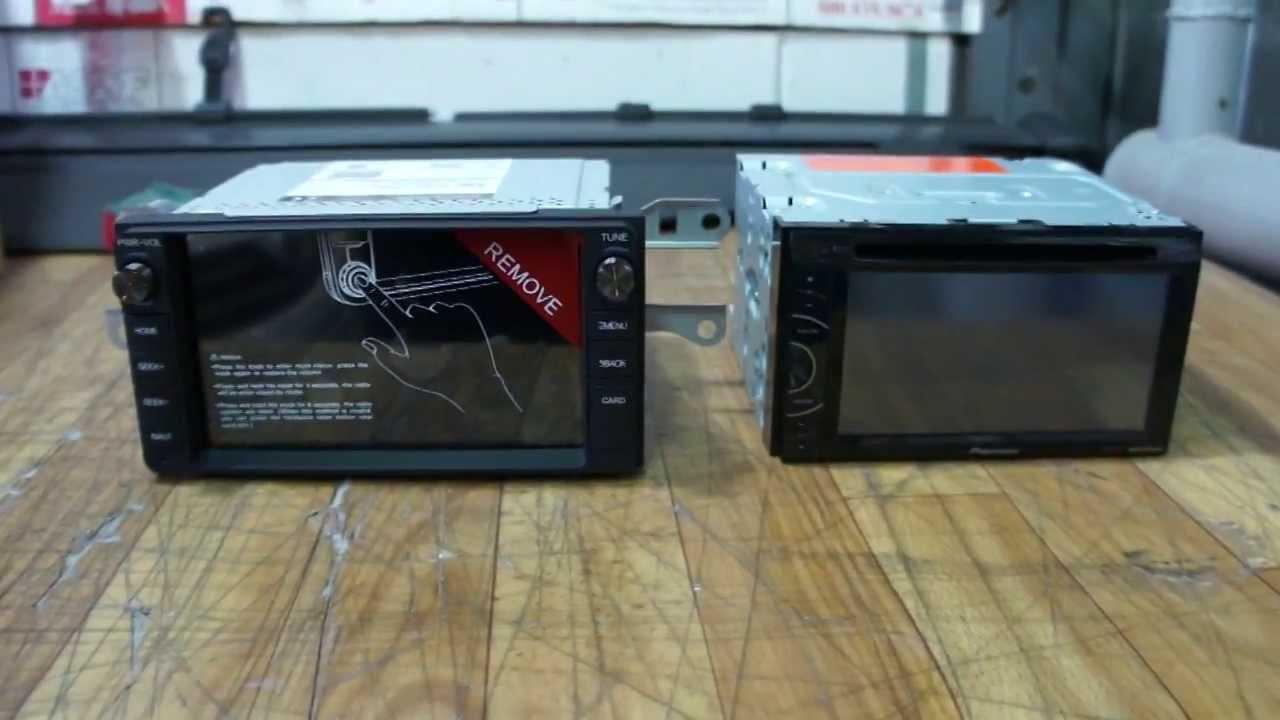 Замена 2DIN магнитолы на Android  головное устройство  FlyAudio Toyota