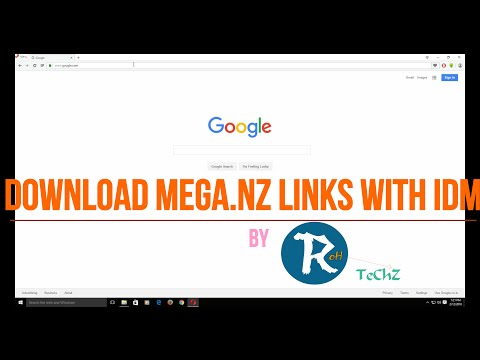 How To Download Mega Files Using IDM (OUTDATED)