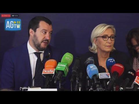 """Salvini: """"I giornalisti sono pigri, ma i cittadini votano al di là dei titoli"""""""