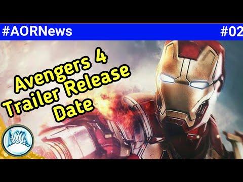 Avengers 4 trailer, Antman & wasp Blu-ray link, Doctor strange updates etc || AORNews 02
