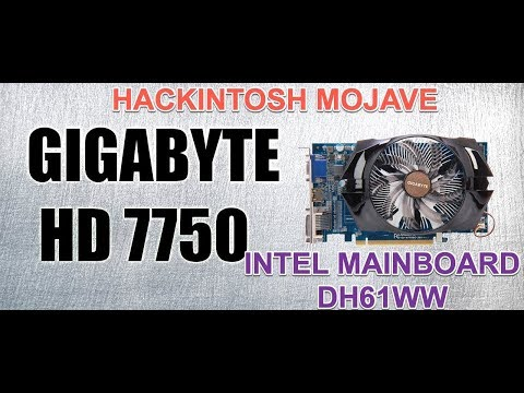 AMD Radeon HD 7750/Mojave10 14 0 ✔ (Hackintosh)attached a link below