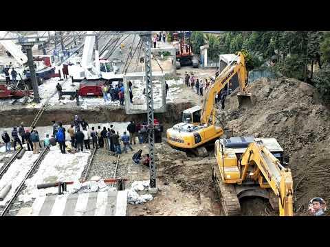 UNDERPASS CONSTRUCTION AT BARASAT (ভূগর্ভস্থ পথ)   !! NORTH 24 PARGANAS !! WEST BENGAL !! INDIA