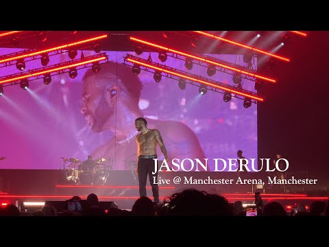 Jason Derulo Live At Manchester Arena, Manchester (FULL SHOW)