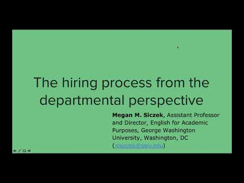 What You Need To Know About The Academic Job Market TESOL SLW Jobs