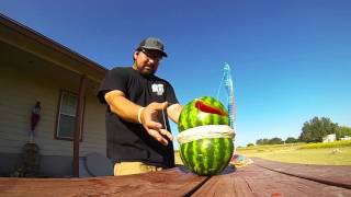 GoPro Hero 3: Watermelon+Rubber Bands+Slow Motion