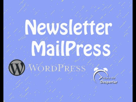 how to add newsletter in wordpress