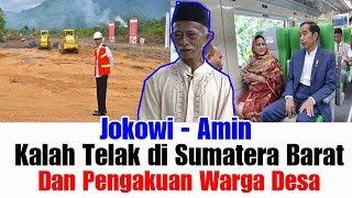 Jokowi Kalah Telak Di Sumatera Barat & Ucapan Terima Kasih Rakyat Desa