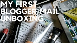 My First Blogger Mail Unboxing   PO Box Haul   Georgie Minter-Brown
