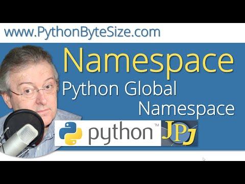 Python Global Namespace - YouTube