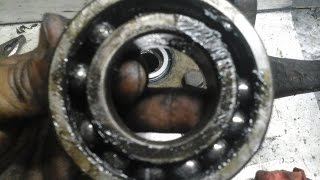 changer un roulement de roue  sans presse - Démontage/montage