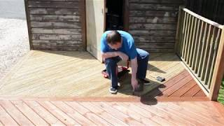 Deck Oiling - 2 hours in 100 seconds