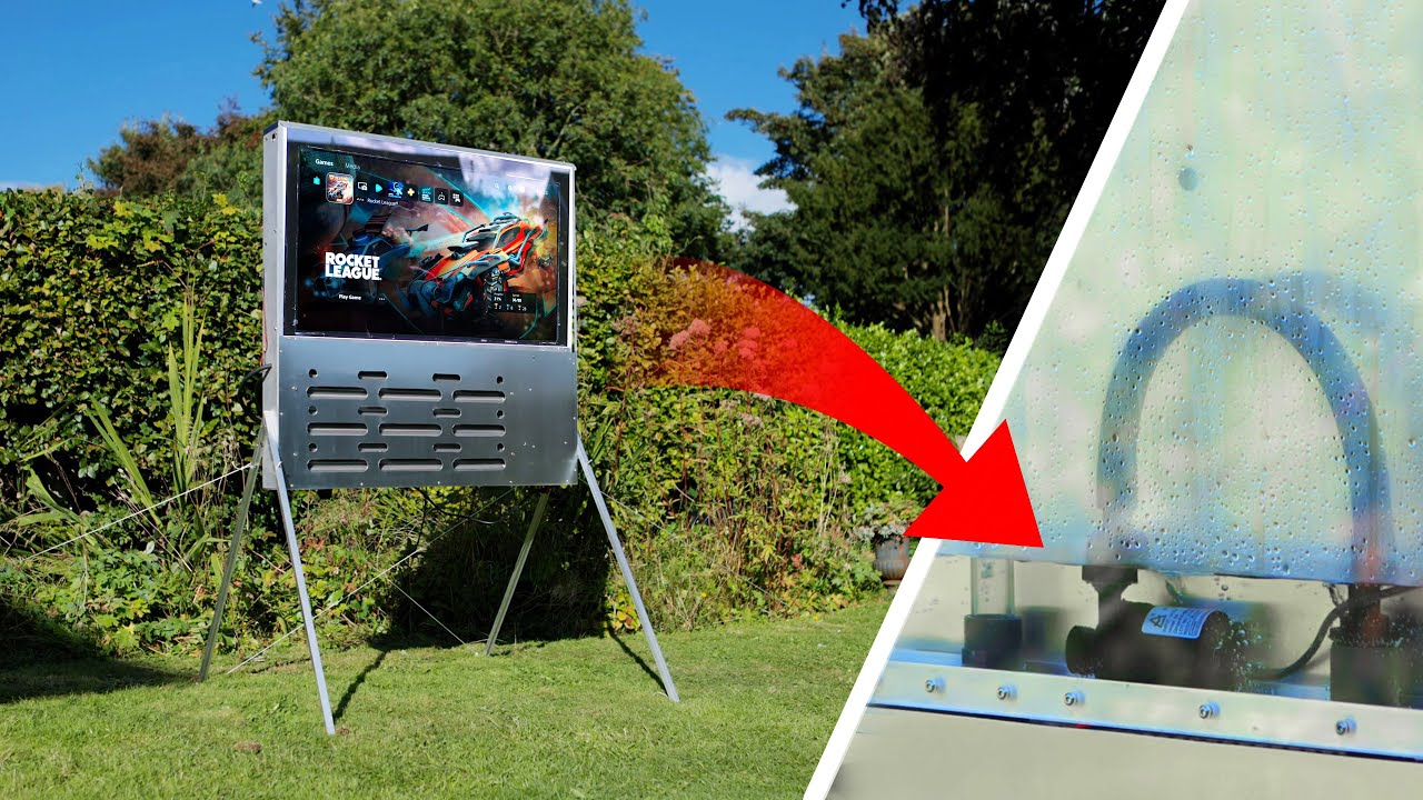 Building an ULTRA-BRIGHT water-cooled TV...