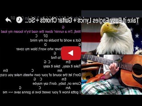 Take it Easy Guitar Karaoke - YouTube