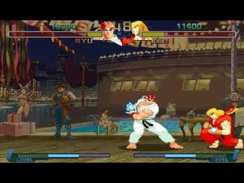 Tas Ryu Vs Ken Street Fighter Zero 2 By M Bizarro