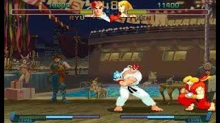 [TAS] Ryu VS Ken (Street Fighter Zero 2)