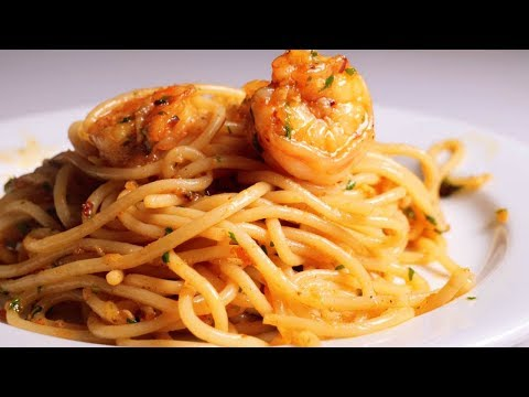 Spicy Garlic Shrimp Pasta in 20 Minutes
