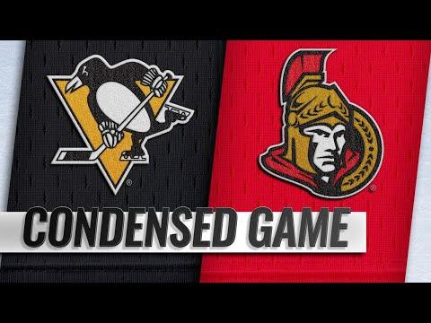 12/08/18 Condensed Game: Penguins @ Senators