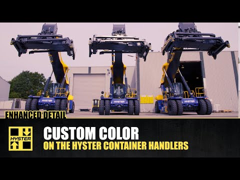 Hyster ReachStackers and Container Handlers at Pacific National
