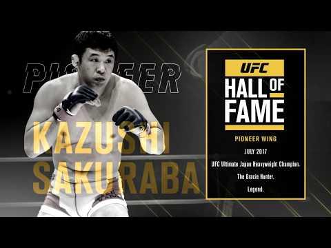 UFC Hall of Fame: Kazushi Sakuraba