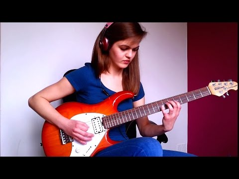 Dream Theater - Overture 1928 guitar cover by Sylwia Urban