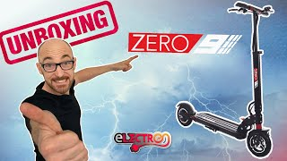 ZERO 9 unboxing trottinette électrique test essai Escooter new unpackin zero zero9