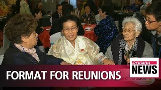 Family reunion schedule: Separated families finally meet on Monday