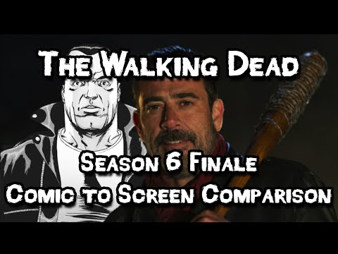 The Walking Dead Season 6 Finale - Comic to Screen Comparison