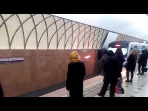 Metro underground in Almaty