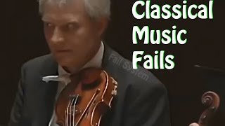 top 10 fails classical music fails